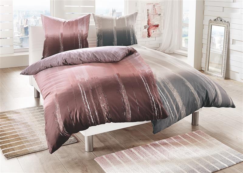 bettw sche mako satin luzern hellrosa 135x200 80x80 von. Black Bedroom Furniture Sets. Home Design Ideas