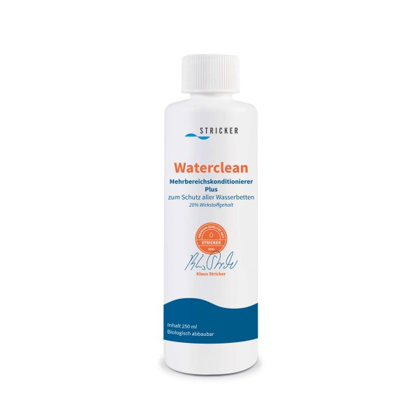 Waterclean Wasserbett Konditionierer Stricker 1 Jahr Conditioner 250 ml Rund