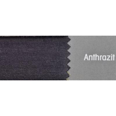 Topper Spannbetttuch ZipZu FEY & Co Spannbettlaken mit Reissverschluß für Boxspringbett 80x200 cm Anthrazit
