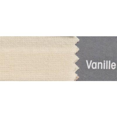 Topper Spannbetttuch ZipZu FEY & Co Spannbettlaken mit Reissverschluß für Boxspringbett 100x200 cm Vanille
