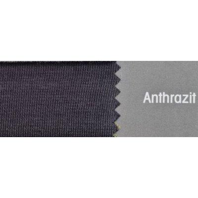 Topper Spannbetttuch ZipZu FEY & Co Spannbettlaken mit Reissverschluß für Boxspringbett 100x200 cm Anthrazit