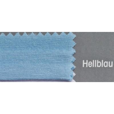 Topper Spannbetttuch ZipZu FEY & Co Spannbettlaken mit Reissverschluß für Boxspringbett 120x200 cm Hellblau