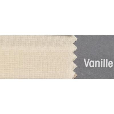 Topper Spannbetttuch ZipZu FEY & Co Spannbettlaken mit Reissverschluß für Boxspringbett 120x200 cm Vanille