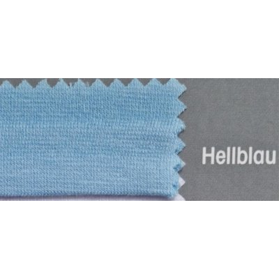 Topper Spannbetttuch ZipZu FEY & Co Spannbettlaken mit Reissverschluß für Boxspringbett 160x200 cm Hellblau