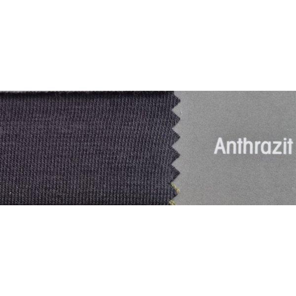 Topper Spannbetttuch ZipZu FEY & Co Spannbettlaken mit Reissverschluß für Boxspringbett 200x200 cm Anthrazit