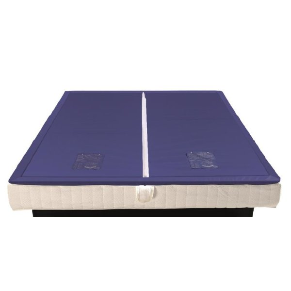 Wassermatratzen Savorana Softside Dual Wasserkerne 2 Stück 180 x 210 cm F4 70% beruhigt = 2-3 Sek. Nachschwingzeit F8 100% beruhigt = 0 Sek. Nachschwingzeit