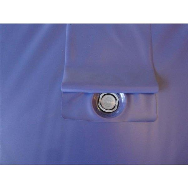 Wassermatratzen Savorana Softside Dual Wasserkerne 2 Stück 200 x 200 cm F2 50% beruhigt = 4-5 Sek. Nachschwingzeit F8 100% beruhigt = 0 Sek. Nachschwingzeit