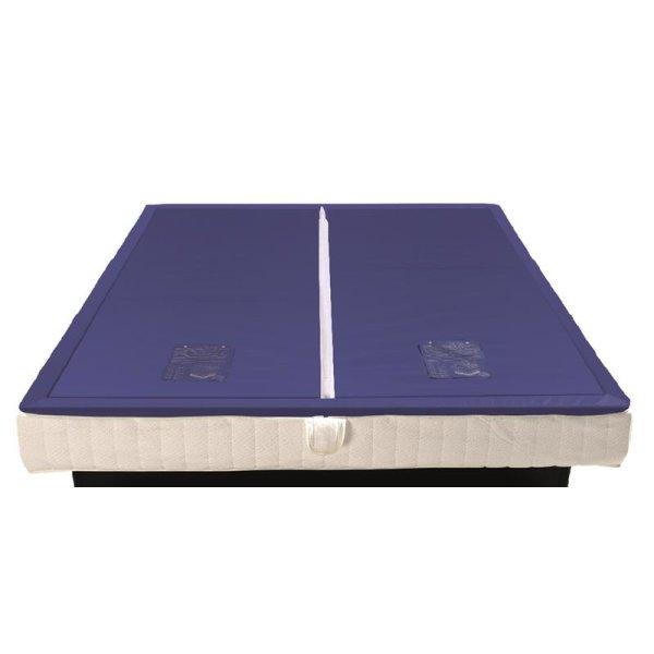 Wassermatratzen Savorana Softside Dual Wasserkerne 2 Stück 200 x 200 cm F8 100% beruhigt = 0 Sek. Nachschwingzeit F0 0% beruhigt = 20 Sek. Nachschwingzeit