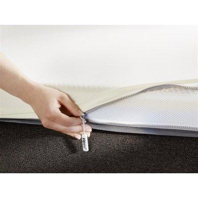 Zipzu Topper Matratzen Auflage Latex Bettlaken Spannbettlaken Spannbetttuch Reißverschluss zip-verschluss online kaufen bestellen