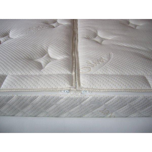 Wasserbettbezug Bezug Silver Care als Splittbezug ohne Hygieneschicht 200 x 220 cm