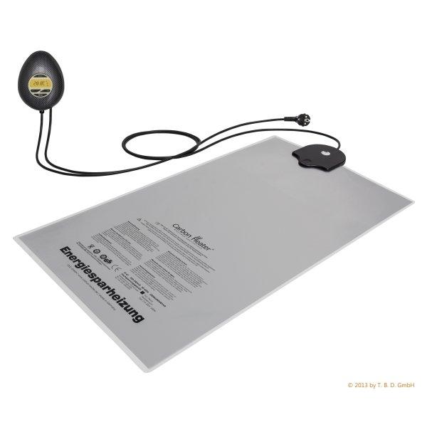Heizung IQ Digital Carbon 320 W für Mono Wasserbetten mit Zeitschaltuhr