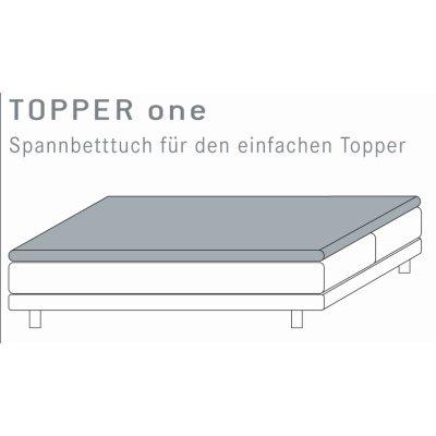 Spannbetttuch 180x200 180/200 Topper Boxspringbett Spannbettlaken Kneer Qualität Q22 Vario-Stretch Restposten Sonderposten
