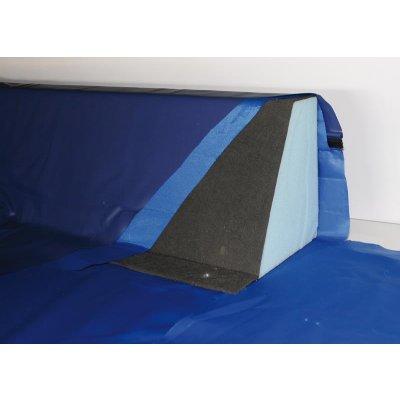 Schaumkeil für Softside Wasserbett Schaumrahmen Schaumstoffrahmen Wasserbettumrandung Schaumkeile Schaumwanne Schaumzargen