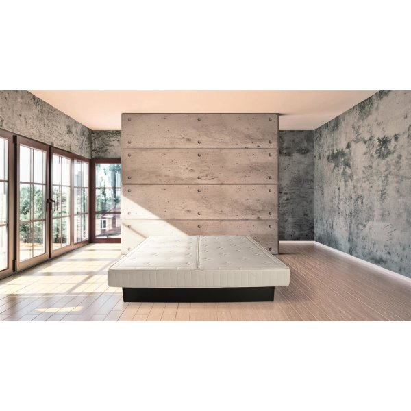 Wasserbett Berlin 200x200 cm Dual Softside komplett freistehend