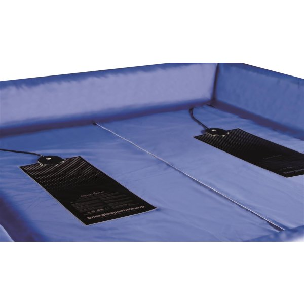 Wasserbett Berlin 200x210 cm Dual Softside komplett freistehend