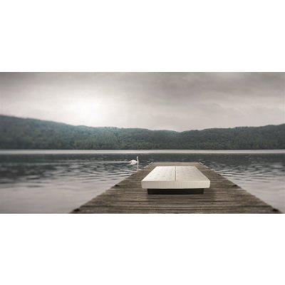 Wasserbett 120x200 120/200 Softside Mesamoll 2 Wasser Bett komplett Komplettbett Wasserbettmatratze freistehend