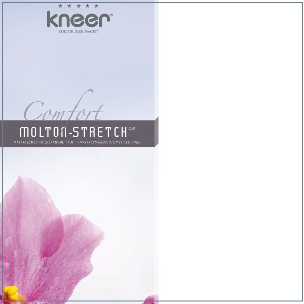 Molton Stretch Matratzenschoner 90/200 100/200 100/220...