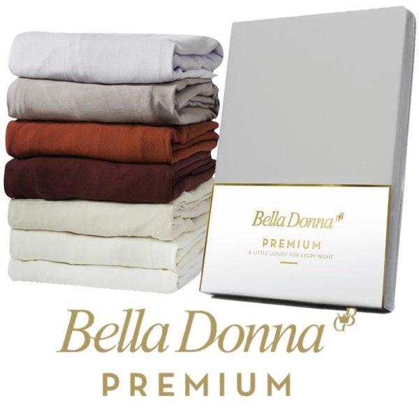 Spannbettlaken Bella Donna Premium 200x220 - 200x240 Spannbetttuch f. Matratzen bis 30 cm Höhe