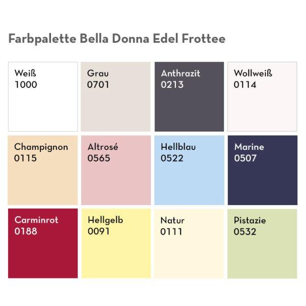 Bella Donna Edel Frottee 140/200, 140/210, 140/220, 160/200, 160/210, 160/220  Spannbettlaken Formesse Spannbettuch Wasserbett hochwertig