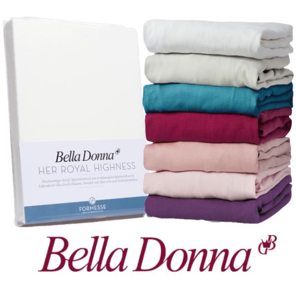Spannbettlaken Bella Donna Jersey 220x220 220x240 240x240 Höhe bis 30 cm Spannbetttuch Maßanfertigung Übergröße