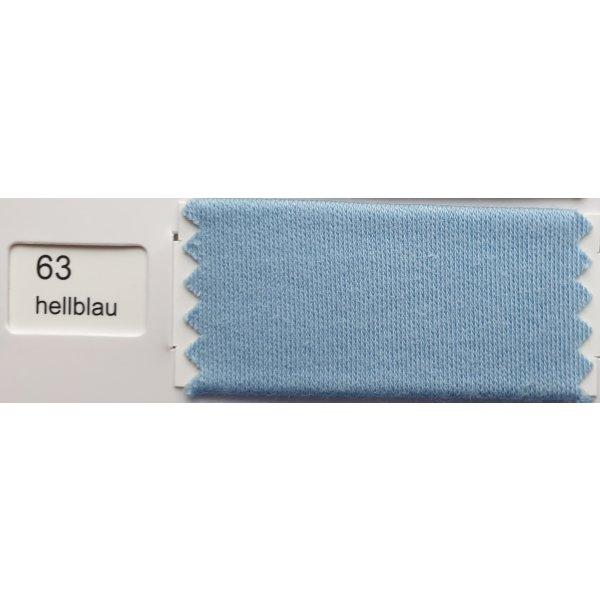 Kissenbezug für Tempur Kopfkissen OMBRACIO 54/48 cm mit Markenreißverschluss Kneer Q20  hellblau_63