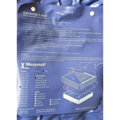 Dual Wassermatratzen mit Schaum-Beruhigung Comfort Wasserkerne für Softside Wasserbett