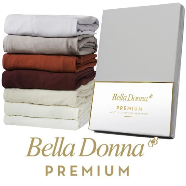 Spannbettlaken Bella Donna Premium 90x190 - 100x220  Spannbetttuch f. Matratzen bis 30 cm Höhe
