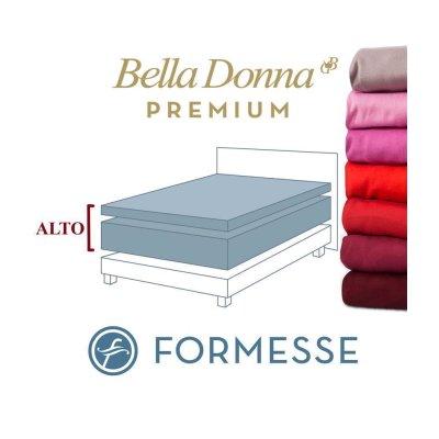 Spannbettlaken  200x220 200x240 Bella Donna Premium Alto Spannbetttuch Wasserbett Boxspringbett höhe Matratzen