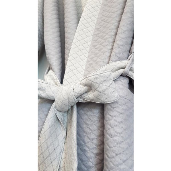 Bella Donna Mantel S M L XL Morgenmantel unisex Tencel Formesse Sommer leicht kühlend Kimono Bademantel