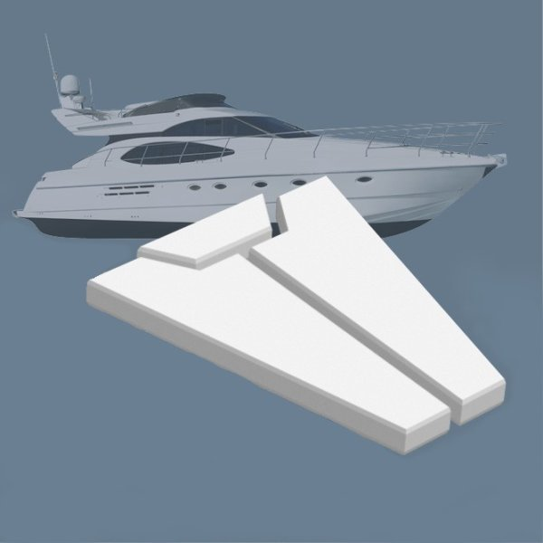 Matrazte Yacht Boot nach Maß Seeschiff maßgefertig