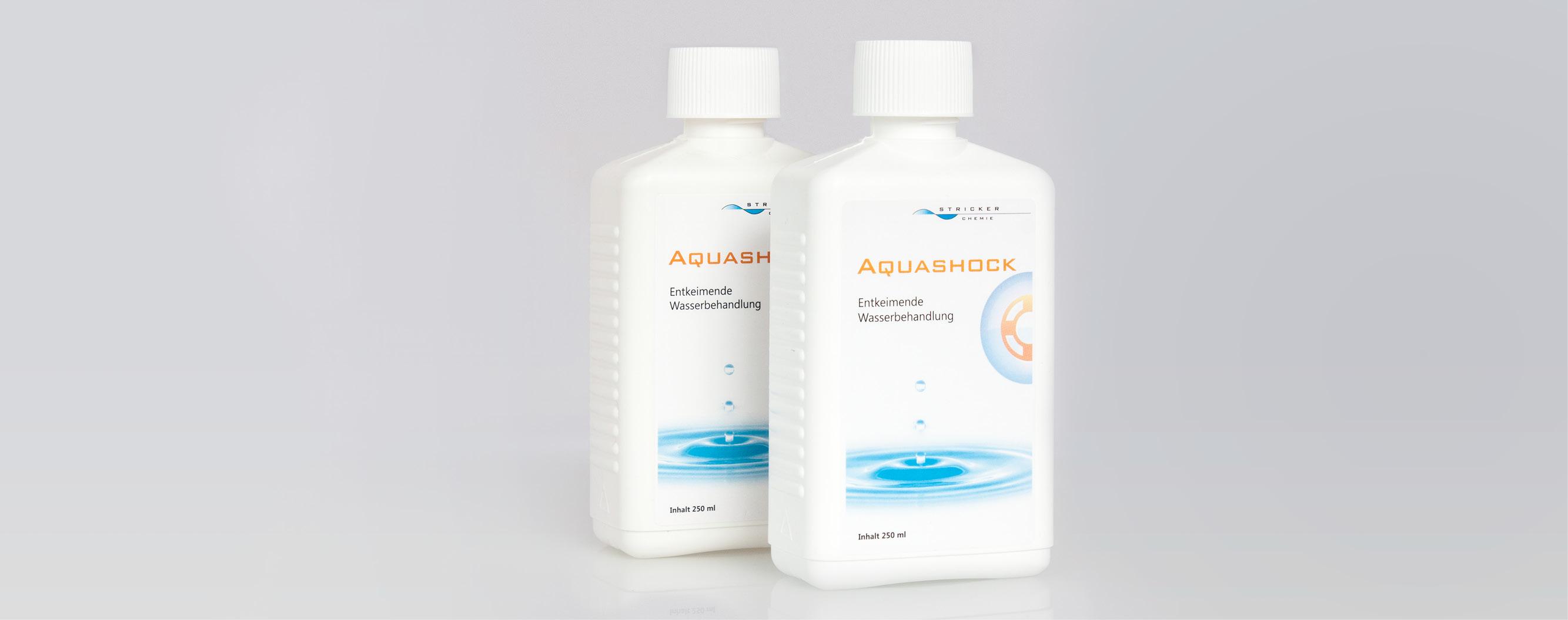 Aquashock gegen Bakterien Algen Hefen Pilze